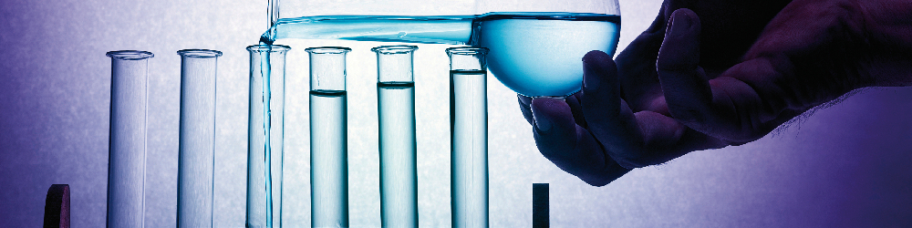 Chelation - test glass